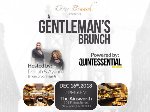 "Masters of Ceremony Presents ""A Gentleman's Brunch"""
