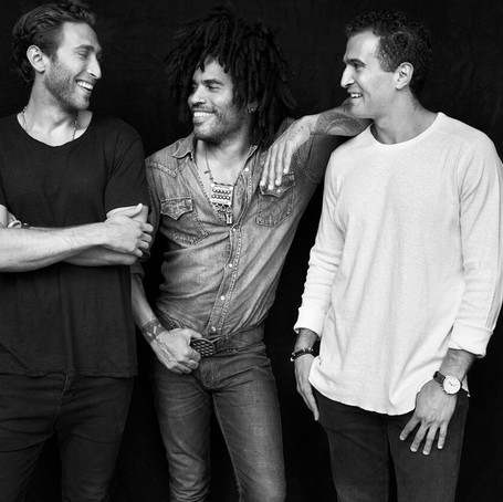 Lenny Kravitz is On a New Mission and It's TWICE Toothpaste