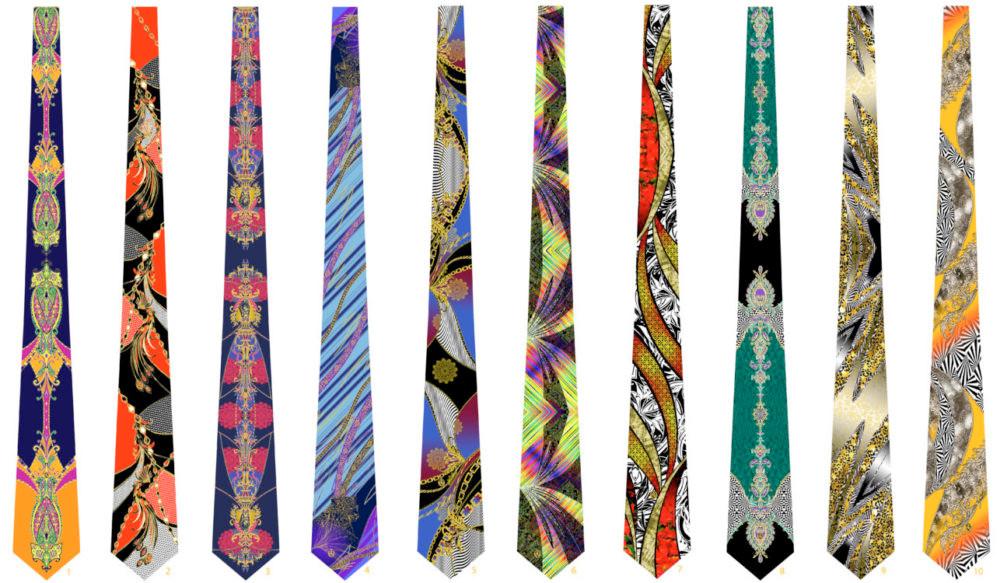 stampa cravatte
