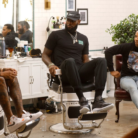 """LeBron James New HBO Show """"The Shop"""" Airs Tonight!"""