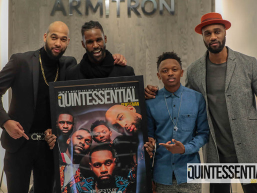 The Quintessential Gentleman Hosts Cover Release Party at Armitron Watches Showroom with Cast of &#8