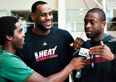 LeBron Working out with Wade Shouldn't get you Bent out of Shape