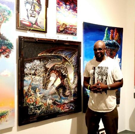 "Meet Atlanta Visual Artist ""rEN"""