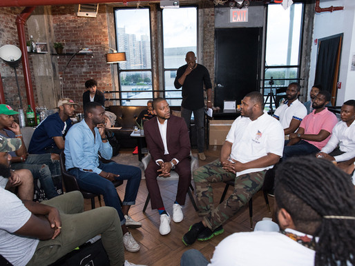 Men of Color Talk Toxic Masculinity, Gender Norms and More at The Creative Collective NYC's &#