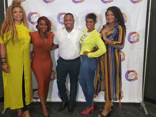 """The Cast of Sister Circle Live host """"Truth Talks"""""""