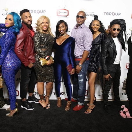 Producer Princess Banton-Lofters Hosts Official Premiere Party of  BET's New Reality Show Ink, Paper