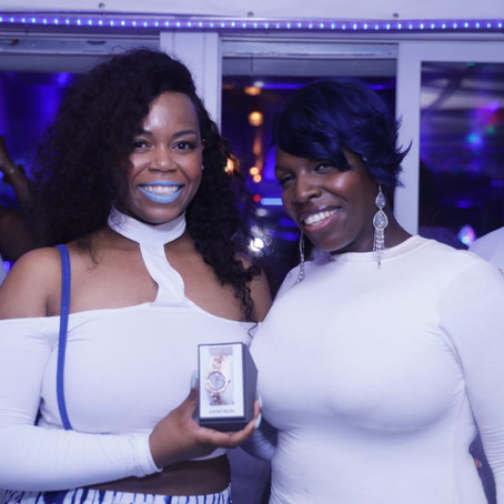 Genise Shelton Hosts 1st Annual Blessed Tresses Yacht Party