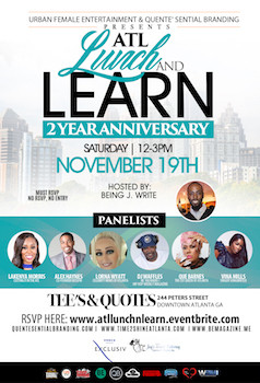 You're Invited #ATLLunchandLearn 2 Year Anniversary