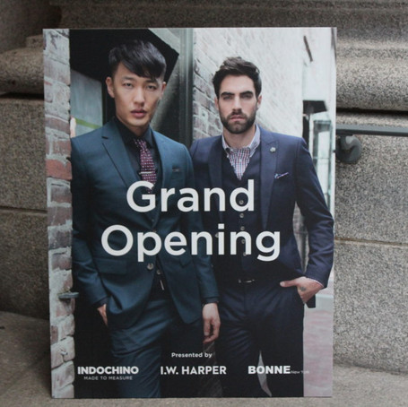I.W. Harper Whiskey Celebrates the Grand Opening of Indochino Second Showroom in NYC
