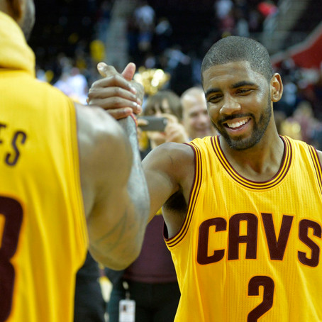 Kyrie Irving Wants Out of 'the Land'