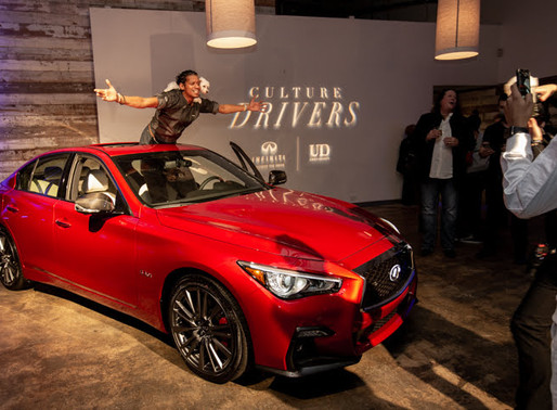 Infiniti & UrbanDaddy Host Culture Drivers with Chef Roble'