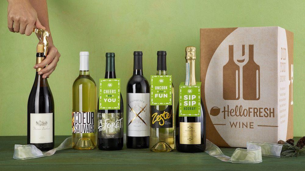 Holiday HelloFresh Wine