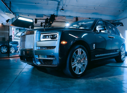 Rolls-Royce Introduces Their First SUV: The Cullinan