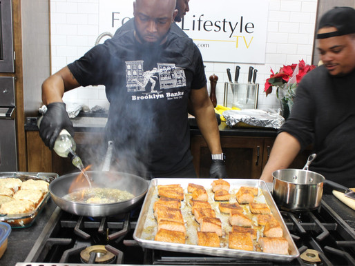 Atlanta's Black Chefs Unite for Holiday Potluck
