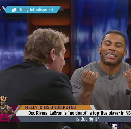 Nelly Joins Skip and Shannon: Undisputed on Fox