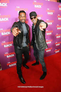 "Shemar Moore and Bill Bellamy attend ""The Bounce Back"" Screening"