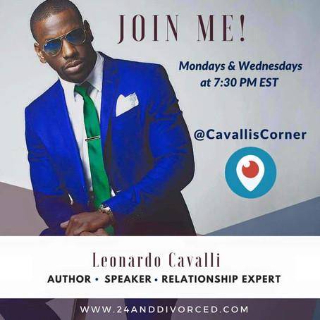 Join Leonardo Cavalli every Monday & Wednesday for Cavalli's Corner