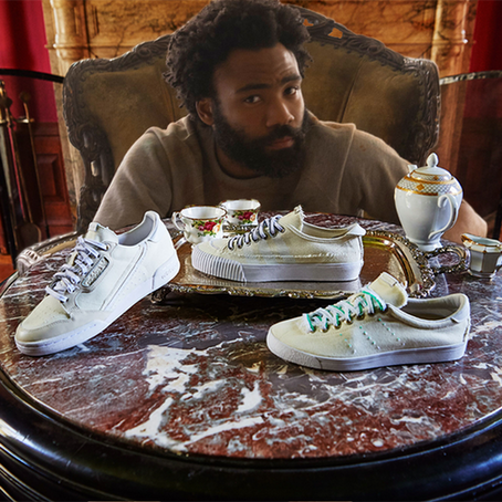Adidas x Donald Glover = Grungy Shoes?