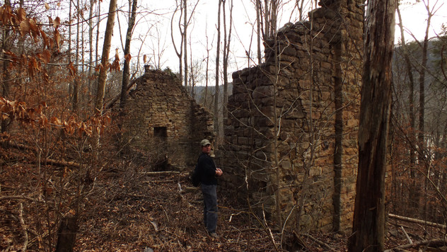 Noteworthy Site in TAG: McNabb Mines, Shake Rag, Marion County, Tennessee
