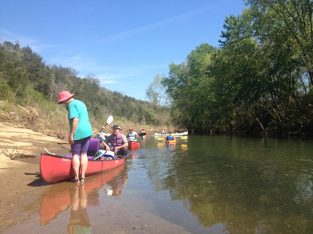 Noteworthy Float in T.A.G.: The Duck River, Tennessee