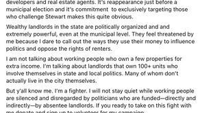 Open Letter to Candidate Strong