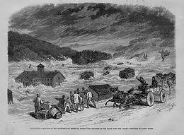 Today in Nutmeg History: Staffordville Dam Burst Causes Cascading Chaos