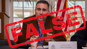 State Rep. Bobby Sanchez Makes Petty and False Claims Against Stewart, Receives A Rebuke