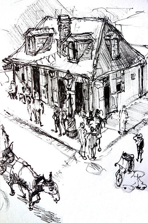 New Orleans Blacksmith Bar