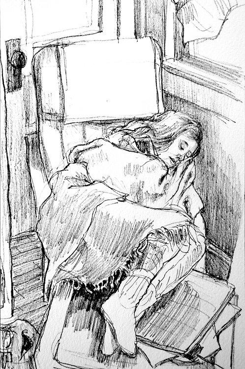 Jess Sleeping