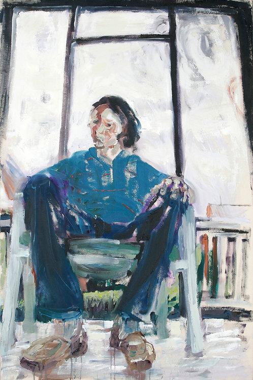 Porch Self-Portrait