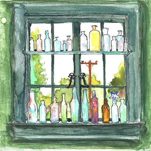 Bottles Window