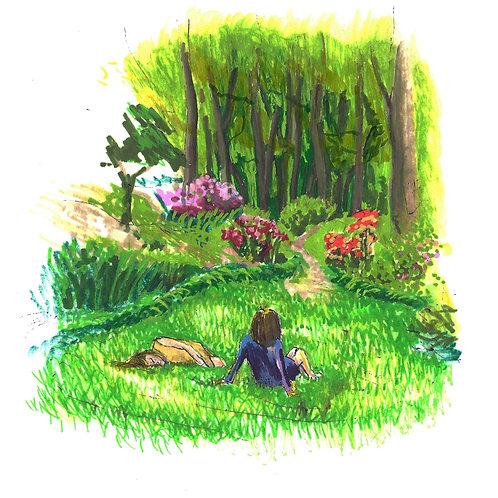 Girls in National Arboretum