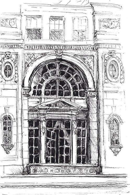 Charles St. Window