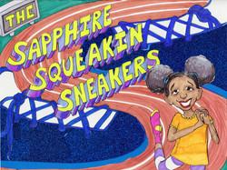 Sapphire Squeakin' Sneakers