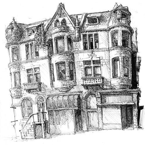 Abel Mansion Charles St. Building