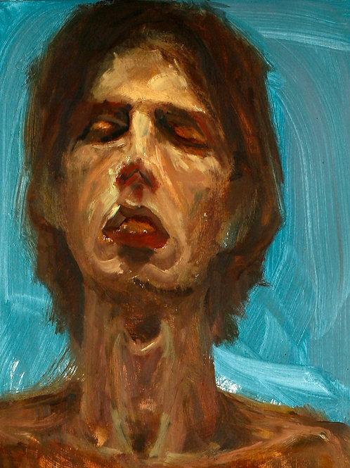Self-Portrait Blue