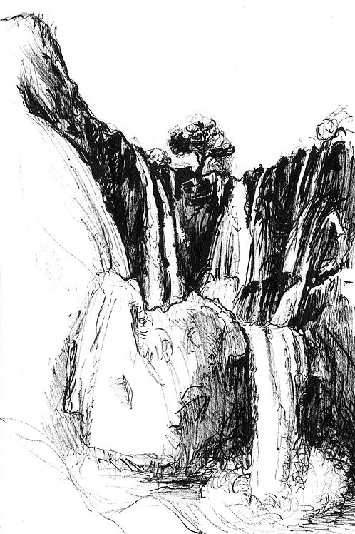 Azoud Waterfall