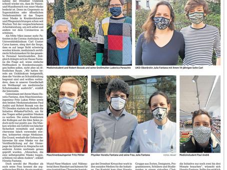 """Zeitung: DNN – """"Ein Symbol der Solidarität"""""""