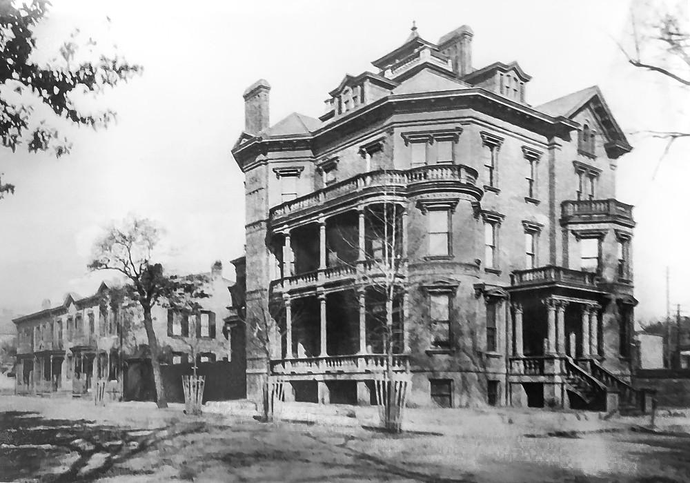 Image Of The Kehoe House, Savannah, GA, 1920