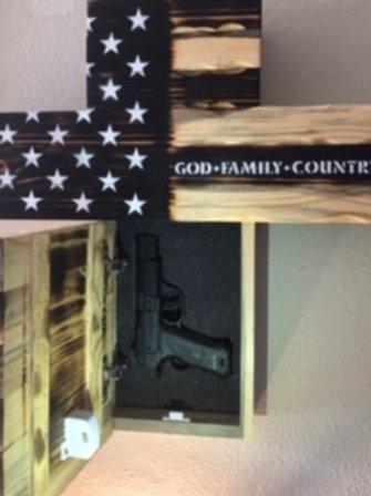 Cross Gun Concealment Box