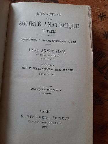 Bulletins de la société anatomique de Paris