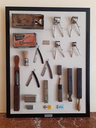 Cadre barbershop