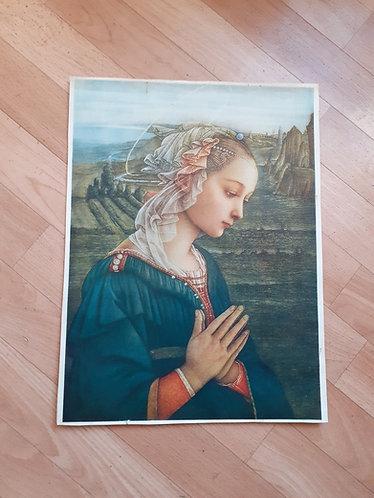 Reproduction de peinture religieuse