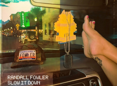 """UPSTAR. MUSIC EXCLUSIVE: Listen To Randall Fowler's New Single """"Slow It Down"""" Before Release"""