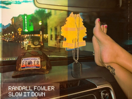 "UPSTAR. MUSIC EXCLUSIVE: Listen To Randall Fowler's New Single ""Slow It Down"" Before Release"