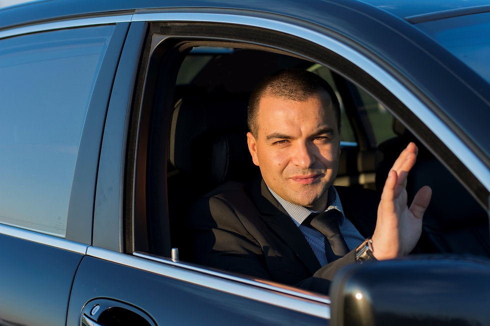 Blackwing Executive Chauffeur Driving Mercedes-Benz