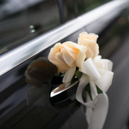 Car wedding decoration