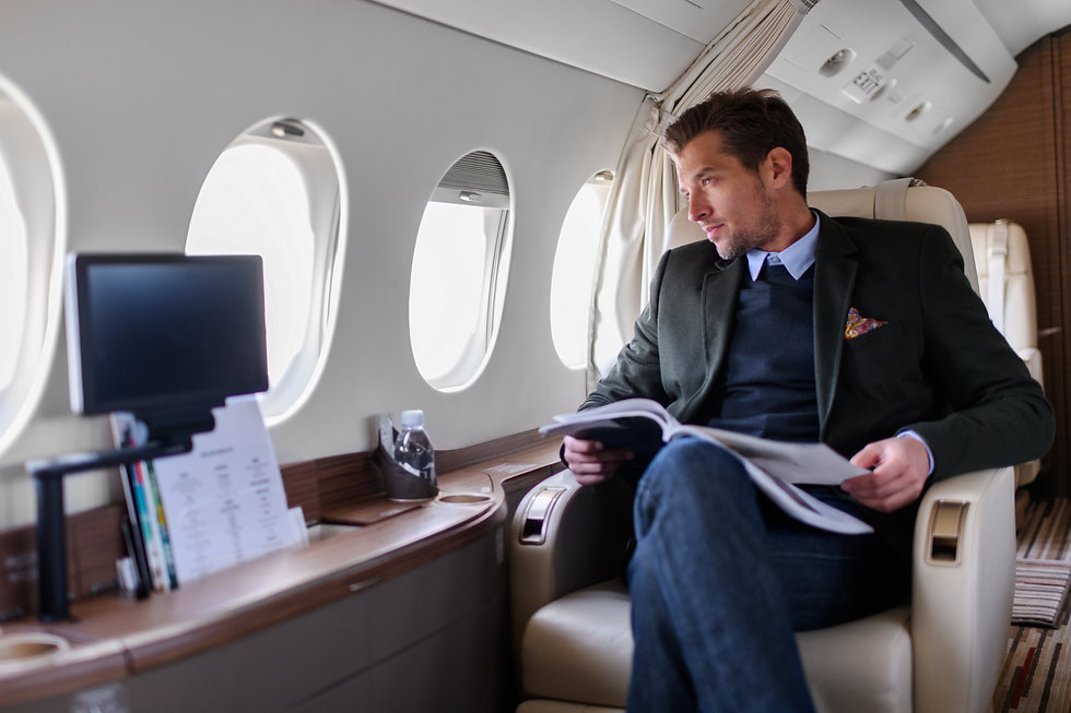 travle by private jet