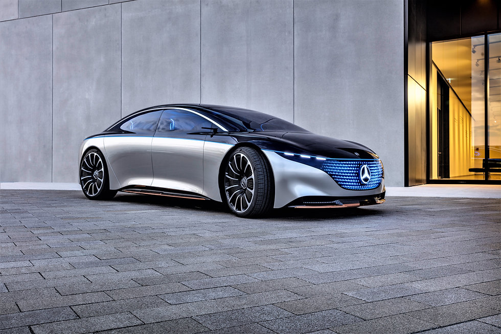 The Future Electrifid Sucesor to The Current S-Class