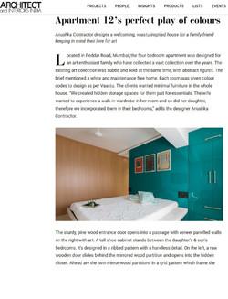 Architect and Interiors India, April 2020